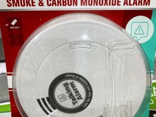 First Alert 10 Year Battery Combination Photoelectric Smoke and Carbon Monoxide Alarm with Voice and location