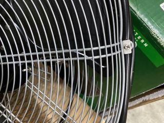 Utilitech Pro 20 in 3 Speed Oscillation High Velocity Fan