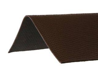 3 29 ft  x 12 1 2 in  Ridge Cap Asphalt Roof Panel in Brown