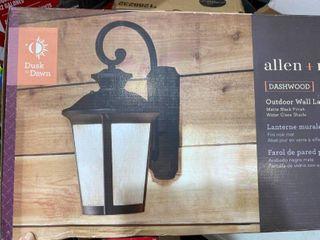 Allen roth Dashwood Outdoor Wall lantern