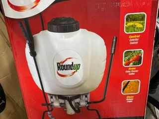 Roundup 4 Gallon Backpack Sprayer