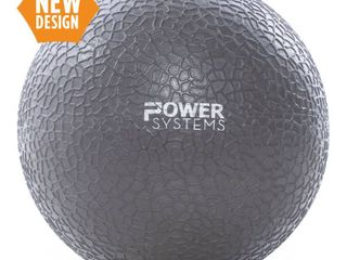 Power Systems MEGA Slam Exercise Ball Prime Fitness Training Weight  15 lb  Gray  Retail  72 62