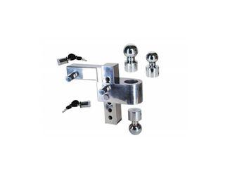 Uriah AlumaTow Adjustable Aluminum Tow Truck Car Trailer Hitch Mount 6 Inch Drop  Retail  159 99
