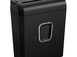 Bonsaii C234 B Portable P 4 High Security 8 Sheet Cross Cut Paper Shredder Bin  Retail  46 69