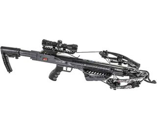 Killer Instinct Burner 415 Crossbow Bow Archery Pro Package with 3 Bolts  Gray  Retail  326 99