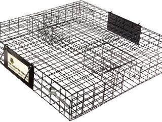 Rugged Ranch SQRTO Squirrelinator Trap CatchMor live Animal 2 Door Metal Cage  Retail  66 99