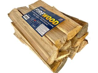 TimberTote Natural Hardwood Mix Fire log Firewood Bundle for Fireplace   Firepit  Retail  55 99