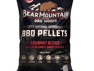 Bear Mountain BBQ FK99 All Natural Hardwood Gourmet Blend Smoker Pellets  20 lbs  Retail  27 99