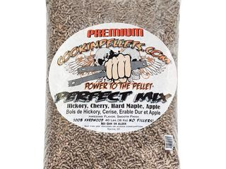 CookinPellets 40 lb Perfect Mix Hickory  Cherry  Hard Maple  Apple Wood Pellets  Retail  52 99