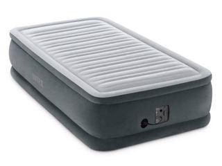 ntex Dura Beam Plus Series Comfort Plus Elevated Airbed w  Built in Pump  Twin  Retail  90 99