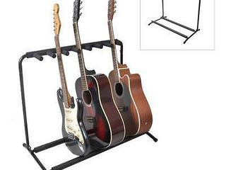 Pyle PGST43 Multi Instrument 7 Slot Universal Guitar Floor Stand Rack Holder  Retail  88 99