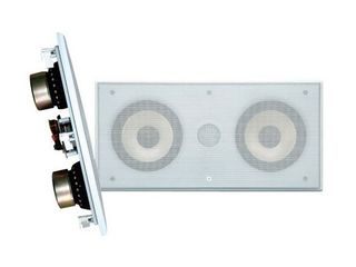 PYlE PDIWCS56 5 25  300W In Wall Celing Speaker White Single Unit  2 Way  Retail  137 99