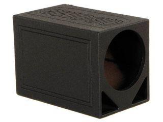 Q Power QBOMB12TB Single 12  Triangle Ported Car Audio Subwoofer Box Enclosure  Retail  199 99