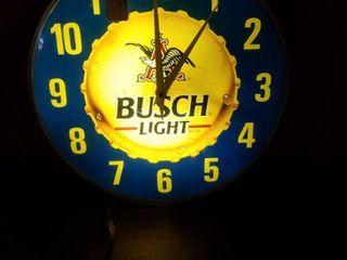 Busch light Clock