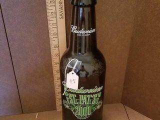 Budweiser Glass Bottle