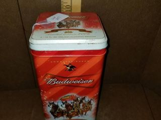 Budweiser Bottle Tin