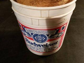 Budweiser Bucket of string