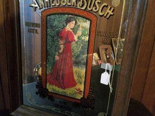 Anheuser Busch Mirror