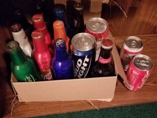 Miscellaneous Bottles and Cans