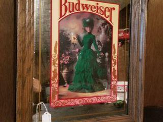 Budweiser lady Mirror