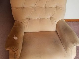 Gold Reclining Chair