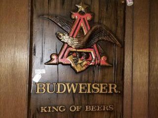 Budweiser Wall Advertising