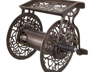 liberty Garden Decorative Wall Mounted Hose Reel   Retail  94 99