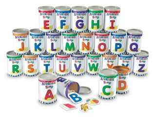 learning Resources  lRNlER6801  Alphabet Soup Sorters Skill Set  209   Set   Retail   38 47