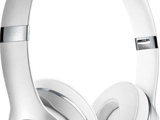 Beats by Dr  Dre   Solo The Beats Icon Collection Wireless On Ear Headphones   Satin Silver   Retail   154 99