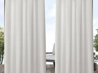 ATI Home Aztec Indoor Outdoor Grommet Top Curtain Panel Pair