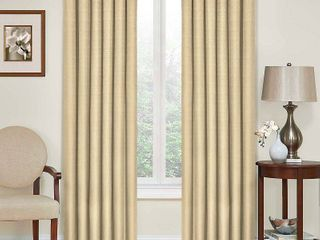 PAIR OF Eclipse Kendall Room Darkening Energy Efficient Curtain Panel