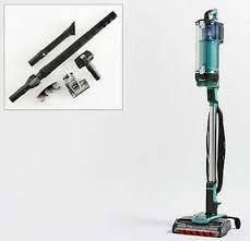 Shark apex Uplight Vacuum with lift Away DuoClean   Self Clean Arctic Blue