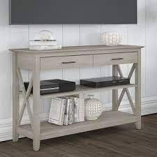 The Gray Barn Console Table with Storage and Organizers Retail 349 99