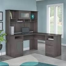BOX 1 2 Copper Grove Daintree l shaped Desk with Hutch Retail 578 49