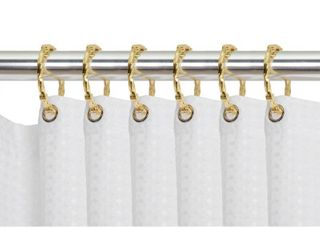 Utopia Alley Shower Eternity Curtain Rings  Rustproof Shower Rings