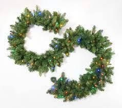 Bethlehem lights 9 ft Green Color Flip Overlit Garland