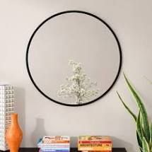 Hub Modern   Contemporary Accent Mirror Finish 18