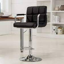 Harldson Adjustable Height Swivel Bar Stool