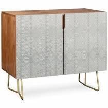 Iveta Abolina Arlene Accent Cabinet Color  Brown