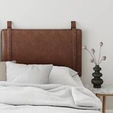 Krorker Upholstered Panel Headboard Size  Twin