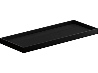 KOHlER Draft 12 in  Holder in Black  Black Black