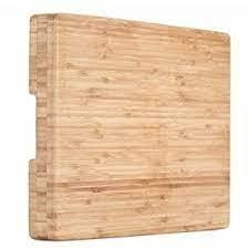 Heim Concept Organic Bamboo Cutting Board For Kitchen Extra large Chopping Bo