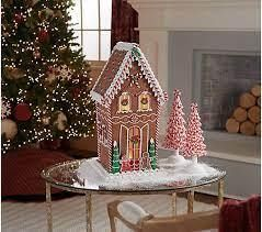 26 in Oversized Illuminated Gingerbread House by Valerie