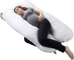 Plush Polyester  Polyfill 7 inch x 47 inch Pregnancy Pillow