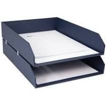 Hakan Desk Organizer Set Dark Blue