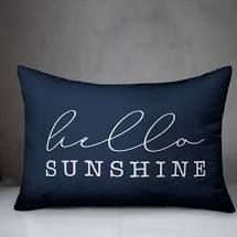 Talan Hello Sunshine Outdoor Rectangular Pillow