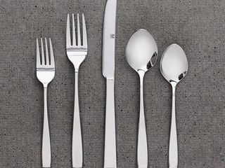 Safdie   Co  20 Piece Flatware Set Premium Silver