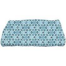 Viet Mosaic Bath Towel Teal