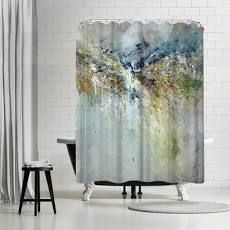 Anne Farrall Doyle Organic 7 Single Shower Curtain