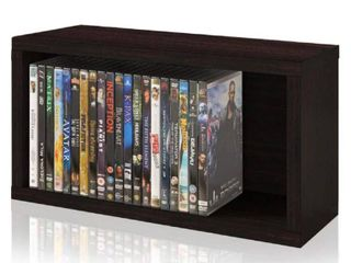 Way Basics DVD Rack  Espresso